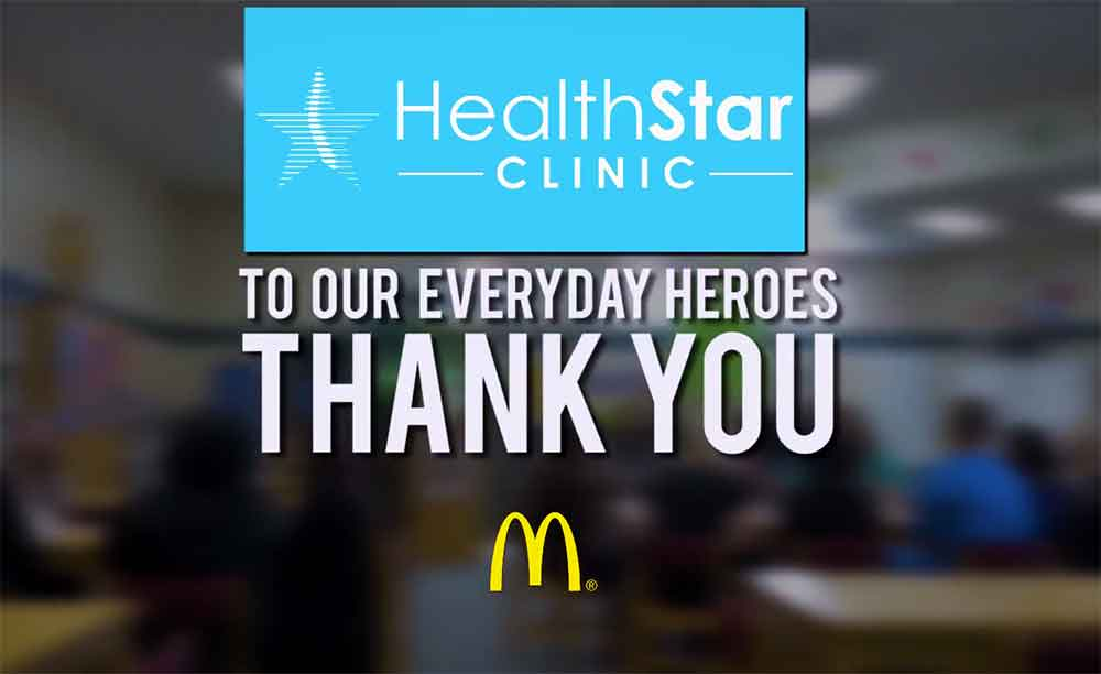 Health Star Gives Back | Blount Elementary School