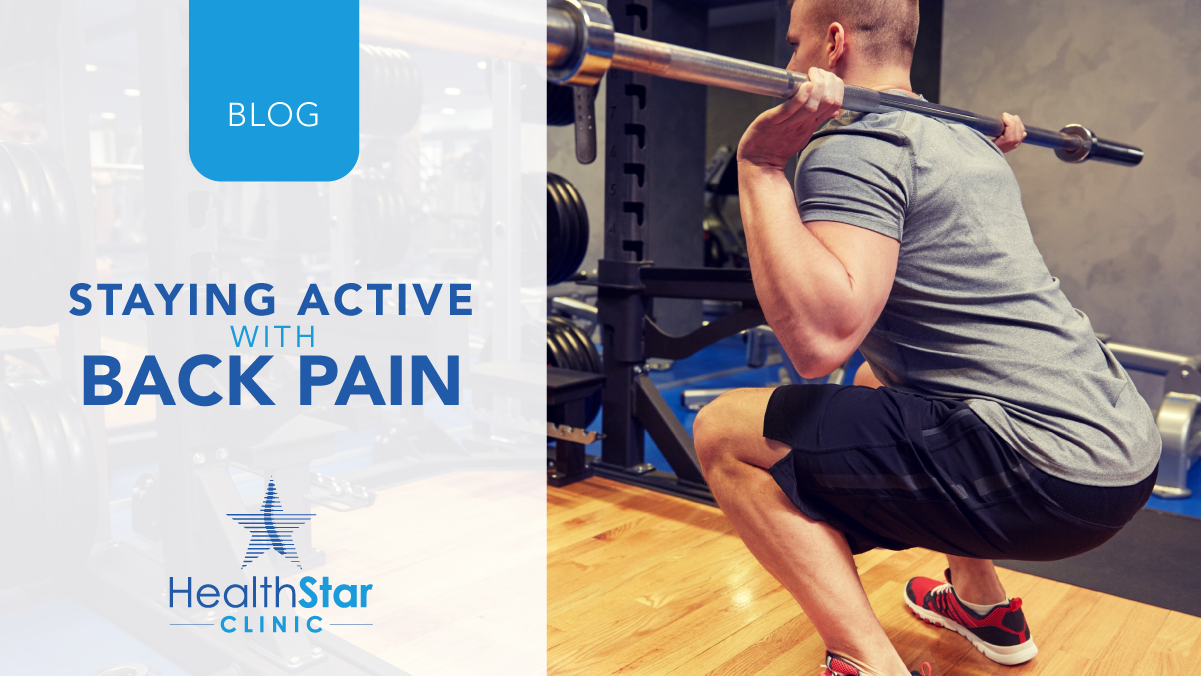 Staying Active with Back Pain