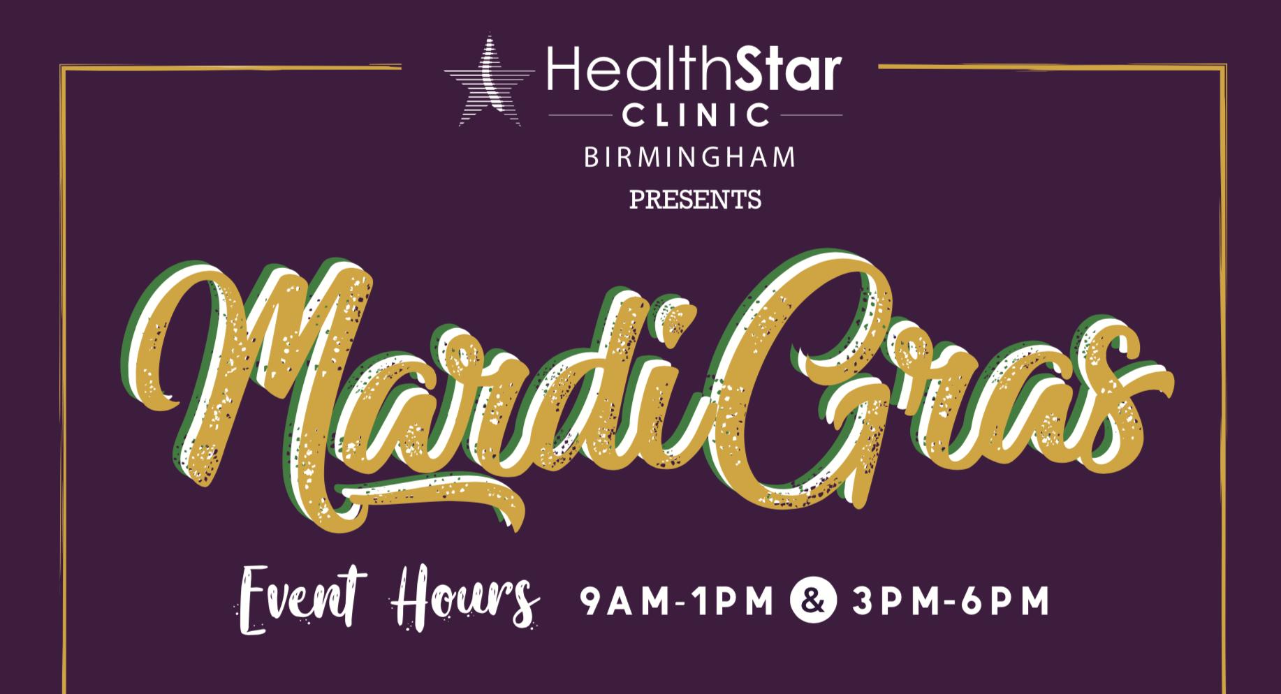 Party Like It's Mardi Gras! The 2020 HealthStar Patient Appreciation Day In Birmingham